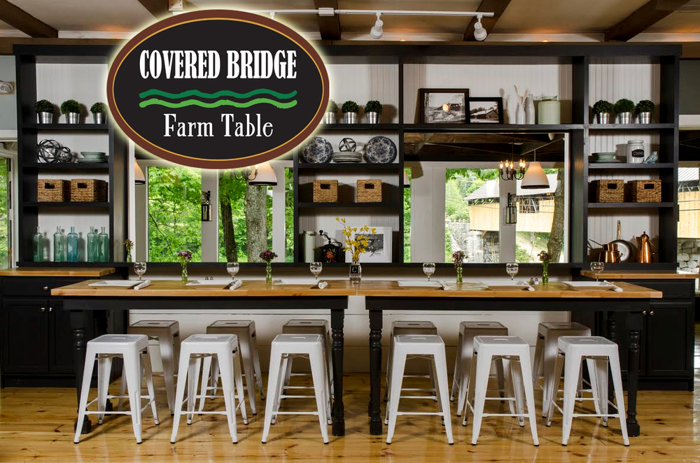 WEDDING VENUE CAMPTON NH Wedding Venue With Catering Bar And Banquet - Covered bridge farm table