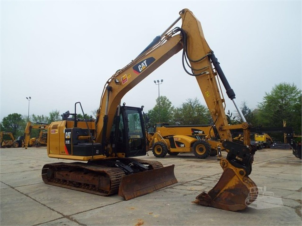Used 2014 Cat 312el Located In Milford Ma 01757 Hillview